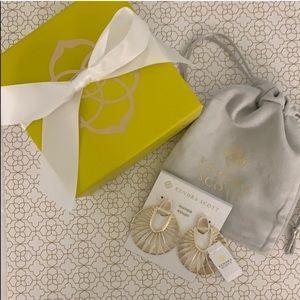 💛 Kendra Scott Didi sunburst earrings in gold 💛